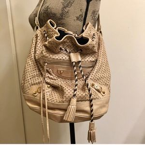 Balenciaga Perforated Bucket Bag